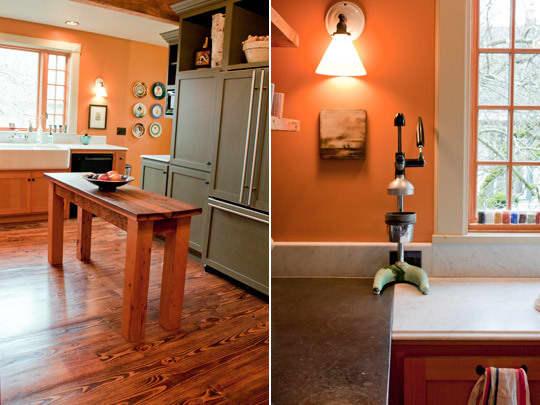 Kitchen Tour: Ginnie and Janie's Warm, Colorful Kitchen: gallery image 10