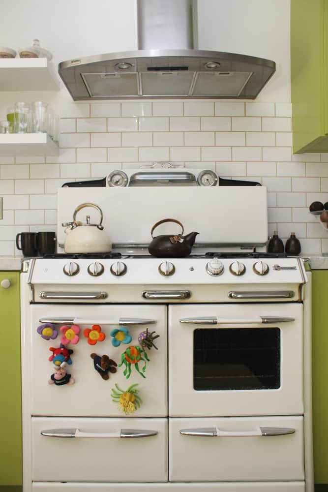 A White & Green Kitchen (with Pops of Color!): gallery image 5