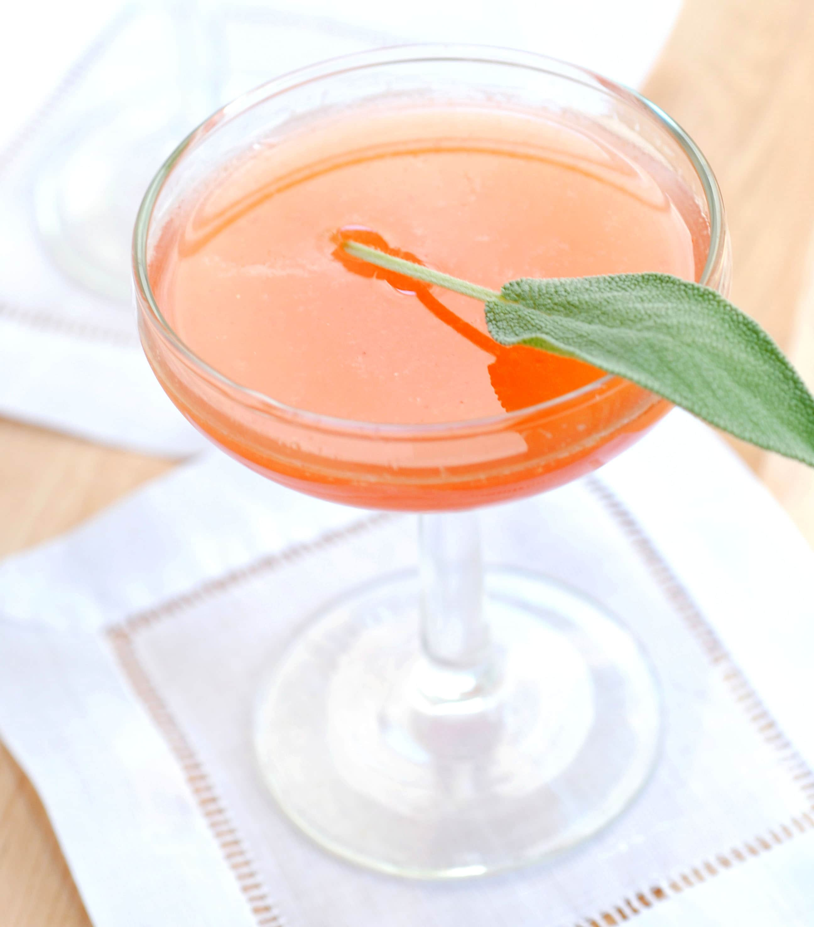Friday Cocktail Recipe: The Summer Sage: gallery image 1