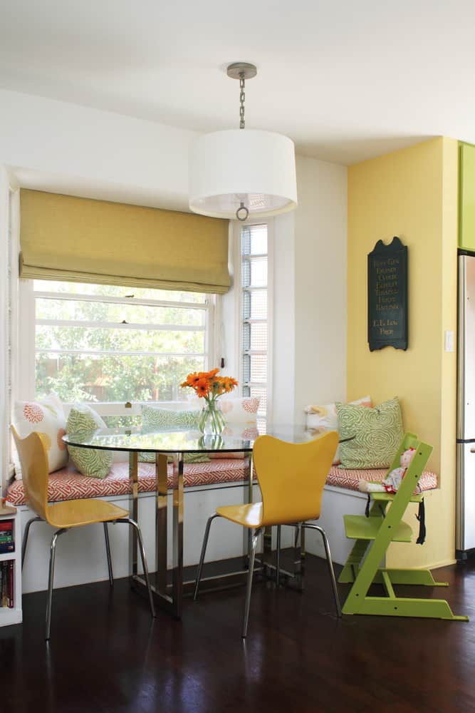 A White & Green Kitchen (with Pops of Color!): gallery image 4