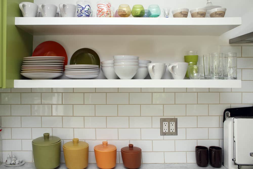 A White & Green Kitchen (with Pops of Color!): gallery image 7