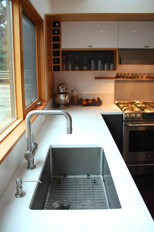 Lauren and Kyle's Sleek, Warm Seattle Kitchen: gallery image 11