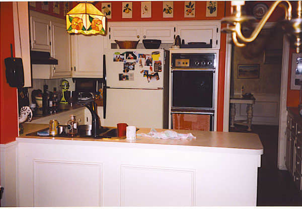 Food Writer Carla Snyder's Warm Red & Green Kitchen: gallery image 3