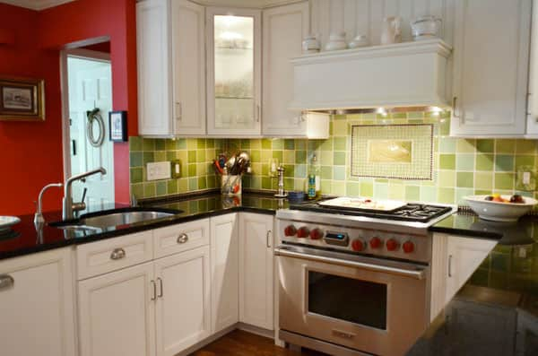 Food Writer Carla Snyder's Warm Red & Green Kitchen: gallery image 29