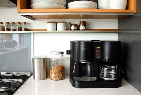 Lauren and Kyle's Sleek, Warm Seattle Kitchen: gallery image 9