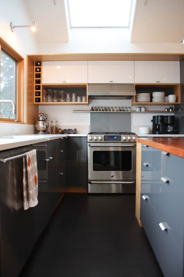 Lauren and Kyle's Sleek, Warm Seattle Kitchen: gallery image 10