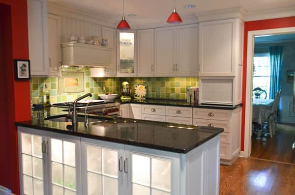 Food Writer Carla Snyder's Warm Red & Green Kitchen: gallery image 2