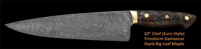 Kramer Knives: Premium Carbon Steel Chef's Knives: gallery image 2