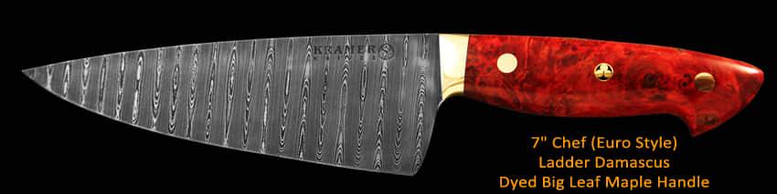 Kramer Knives: Premium Carbon Steel Chef's Knives: gallery image 5