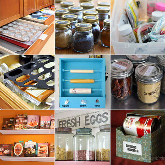 Kitchen Organization Tools: 20 Tips And Tools For Kitchen Organization And Storage