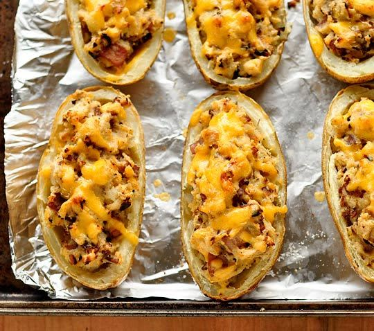 Recipe: Bacon-Cheddar Twice-Baked Potatoes: gallery image 5