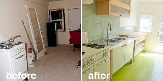 Before & After: 15 Creative Kitchen Renovations: gallery image 9