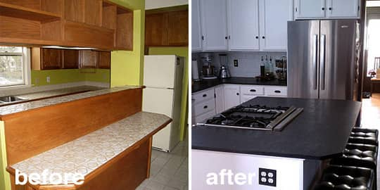 Before & After: 15 Creative Kitchen Renovations: gallery image 12