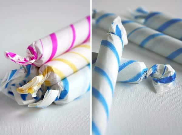 Fast, Pretty Party Favors: Re-Wrap Store-Bought Candy!: gallery image 1