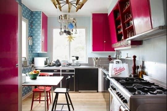 Valentine's Day Year Round: Hot Pink in the Kitchen: gallery image 1