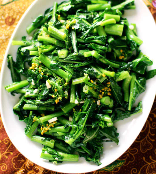 Essential Weeknight Recipe Thai Stir-Fried Greens With -6586