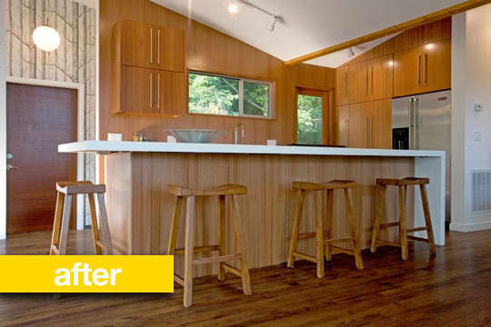 Before & After: Midcentury Kitchen Makeover: gallery image 1