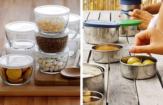 Plastic-Free Containers: Steel vs. Glass: gallery image 1