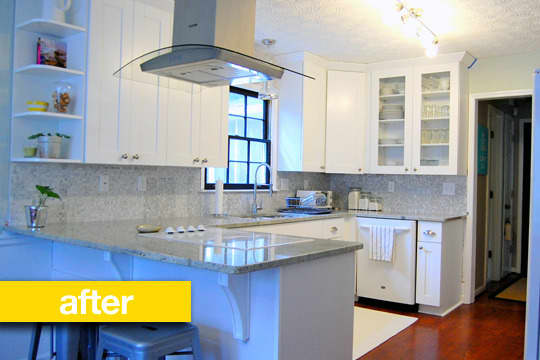 Before & After: A Gutted Kitchen Makeover: gallery image 1