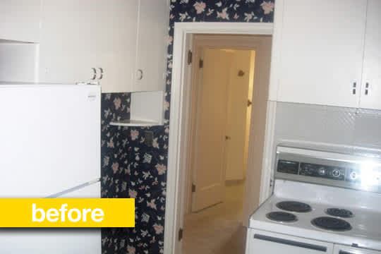 Before & After Renovation: A Granny Kitchen Goes Modern: gallery image 1