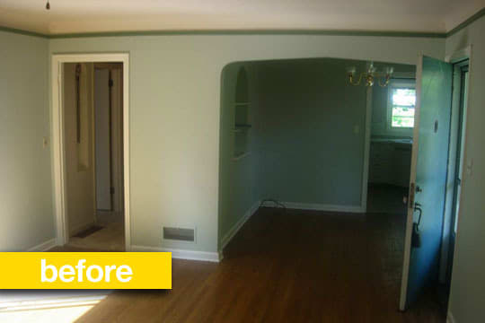 Before & After Renovation: A Granny Kitchen Goes Modern: gallery image 4