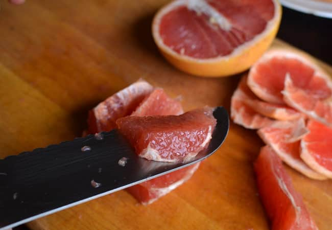 How To Cut a Grapefruit In Segments for Easier Enjoyment: gallery image 11