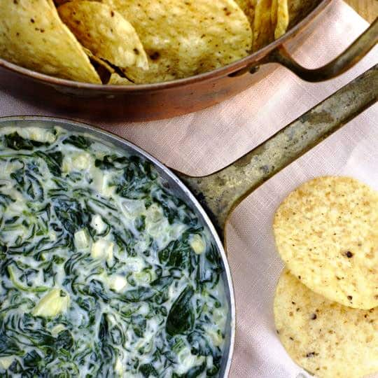 Classic Party Food: 3 Takes on Spinach Dip: gallery image 1