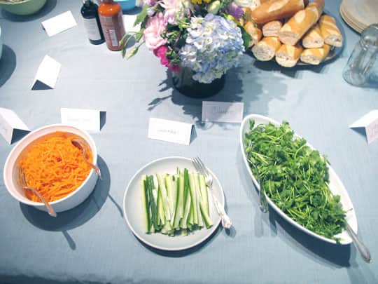 Party Idea! A Build-Your-Own Bánh Mì Sandwich Bar: gallery image 3