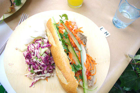 Party Idea! A Build-Your-Own Bánh Mì Sandwich Bar: gallery image 1