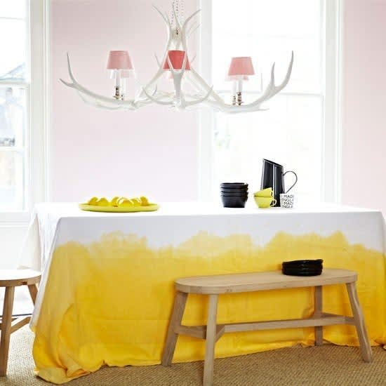 Colorful Dip-Dyed and Paint-Dipped Tableware: 10 Items to Make or Buy: gallery image 3