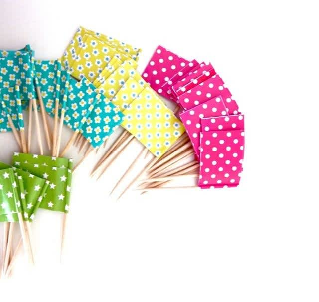 10 Pretty Party Toothpicks to Buy or DIY: gallery image 6