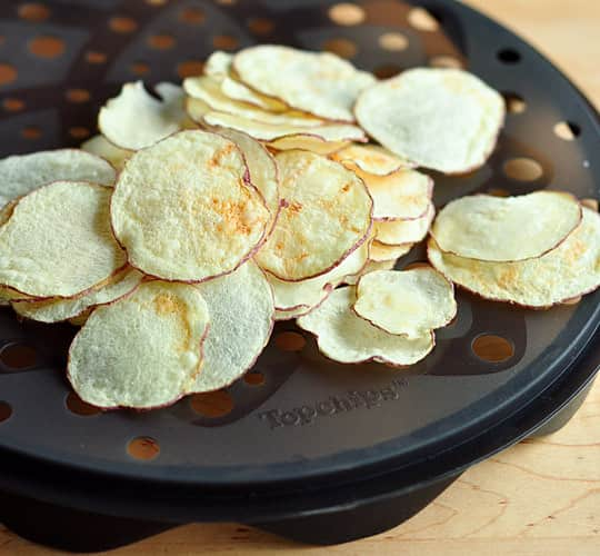 Microwave Chips Made Easy: TopChips Chip Tray: gallery image 1