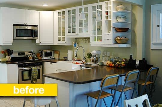Before & After: Katy's $700 Window-Centric Kitchen Remodel: gallery image 1