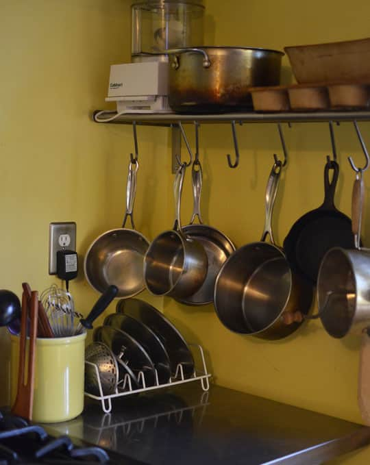 Rachel & Alex's Urban Homestead with Hounds, Chicken, & Handmade Kitchen: gallery image 17
