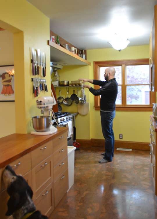 Rachel & Alex's Urban Homestead with Hounds, Chicken, & Handmade Kitchen: gallery image 3