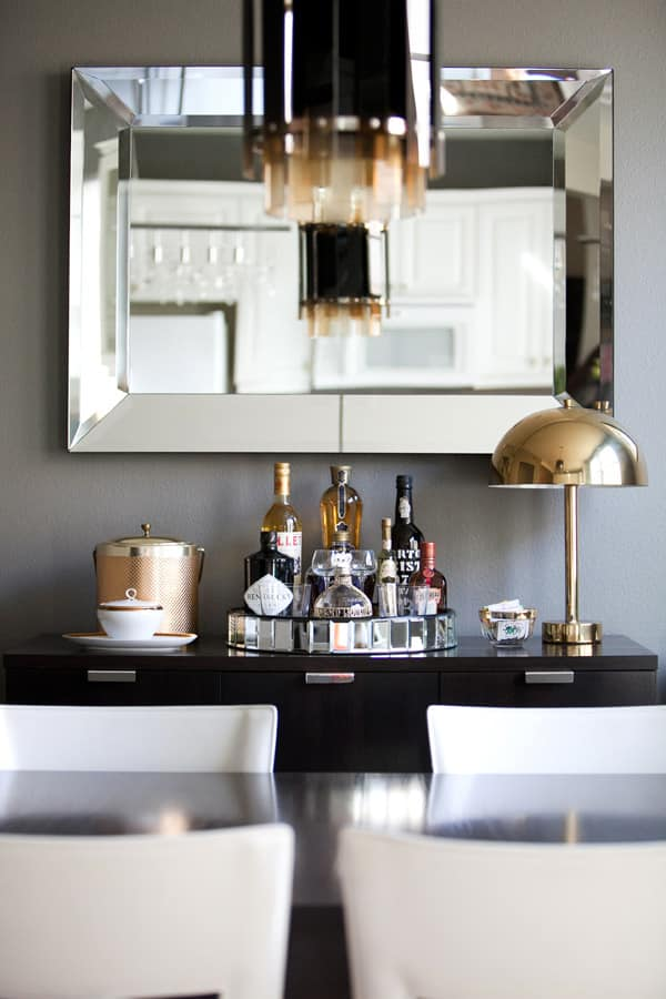 Keeping Liquor Out In The Open 8 Home Bar Set Ups Kitchn