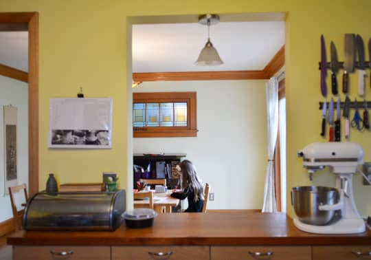 Rachel & Alex's Urban Homestead with Hounds, Chicken, & Handmade Kitchen: gallery image 31