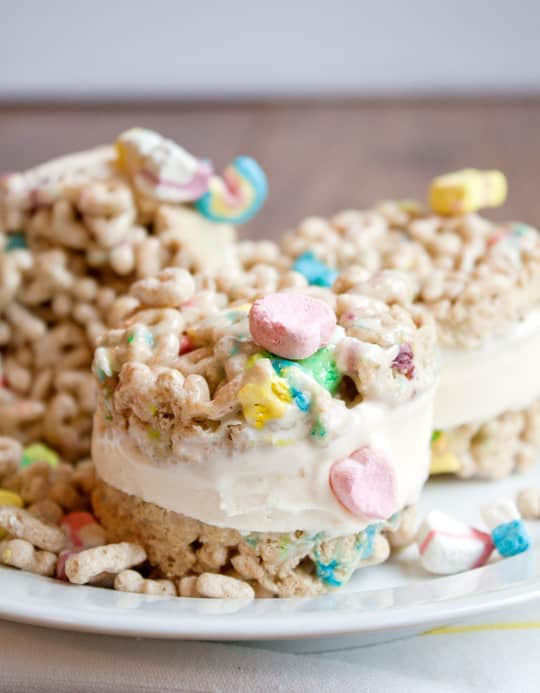 Recipe: Lucky Charms Ice Cream Sandwiches: gallery image 5