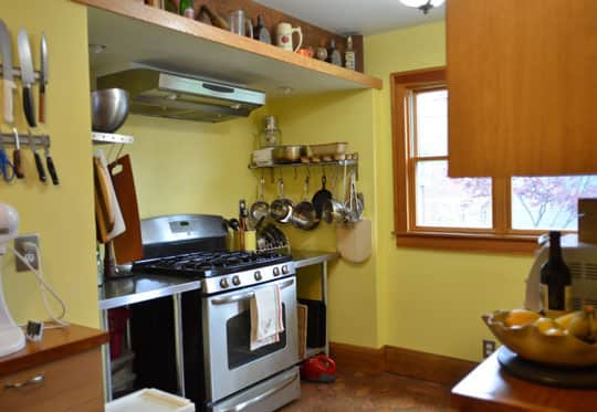 Rachel & Alex's Urban Homestead with Hounds, Chicken, & Handmade Kitchen: gallery image 4