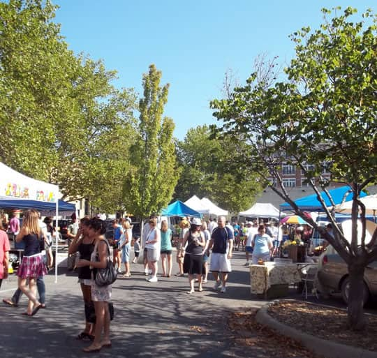 The Downtown Lawrence Farmers' Market: gallery image 1