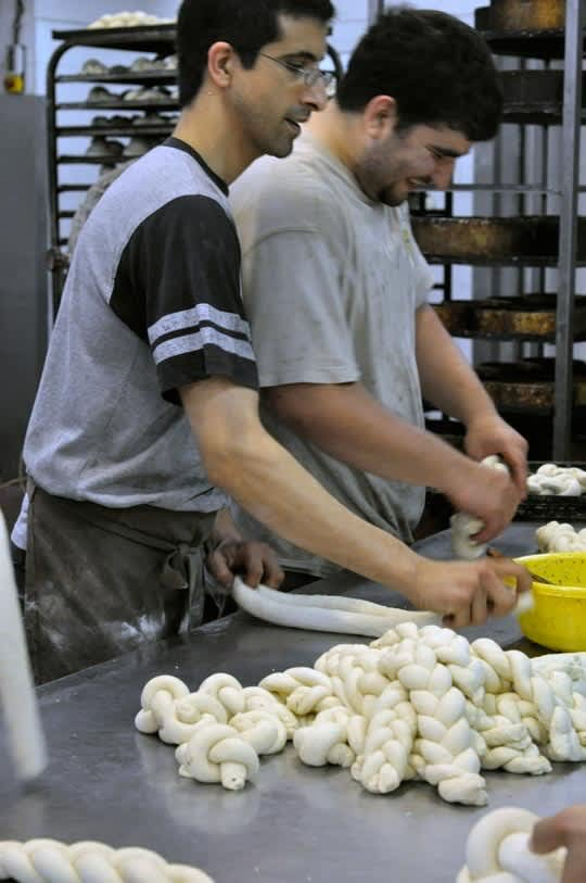 Preparing for Shabbat: A Visit to a Challah Bakery in Bnei Brak, Israel: gallery image 3