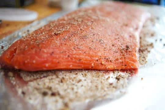 How To Make Smoked Salmon: gallery image 3