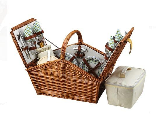 From Simple to Swanky: 10 Picnic Baskets for the Summer: gallery image 6