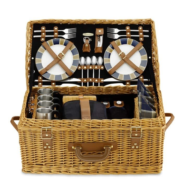 From Simple to Swanky: 10 Picnic Baskets for the Summer: gallery image 7
