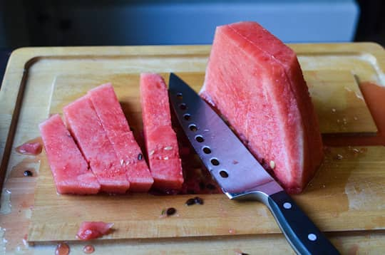 The Best Way to Cut Up a Watermelon: gallery image 4