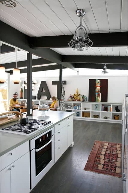 """Jessica and Jonathan's """"Cook Together In Front of the Fireplace"""" Kitchen: gallery image 3"""