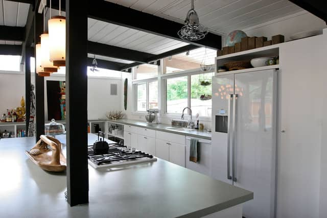 """Jessica and Jonathan's """"Cook Together In Front of the Fireplace"""" Kitchen: gallery image 2"""