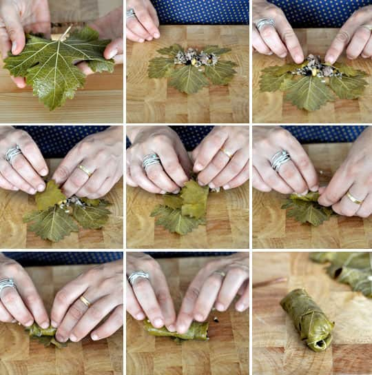 How To Make Stuffed Grape Leaves (Dolmades): gallery image 9