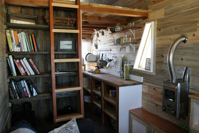Christopher & Merete's Truly Tiny Kitchen on the Colorado Range: gallery image 1