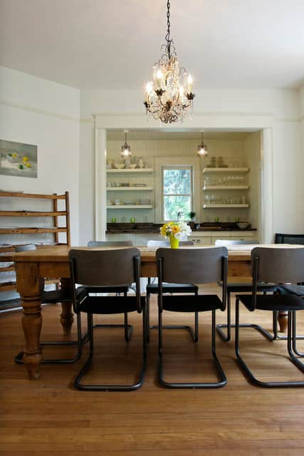 Paige's Rustic Schoolhouse-Inspired Colorado Kitchen & Dining Room: gallery image 6